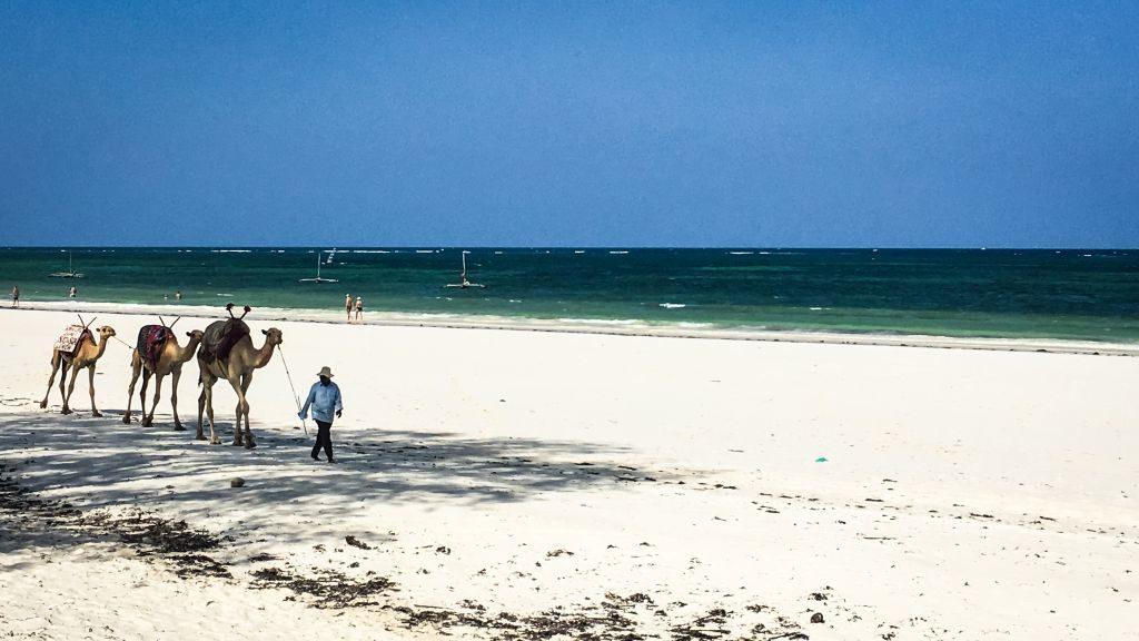 Diani Beach in Kenia