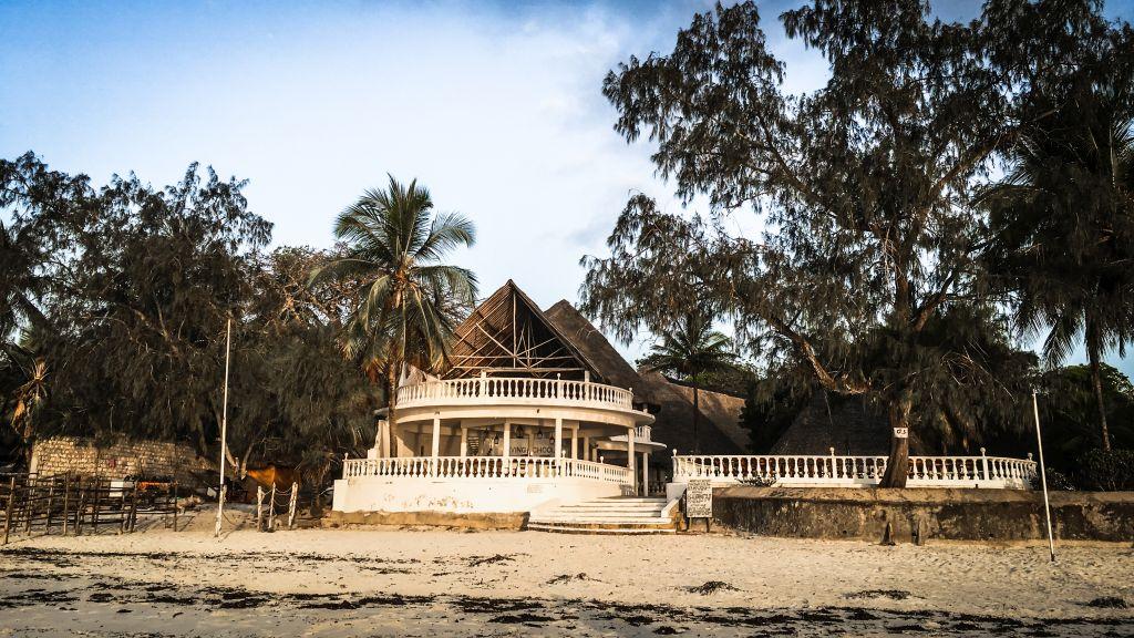 Eine Unterkunft direkt an Diani Beach, Kenia
