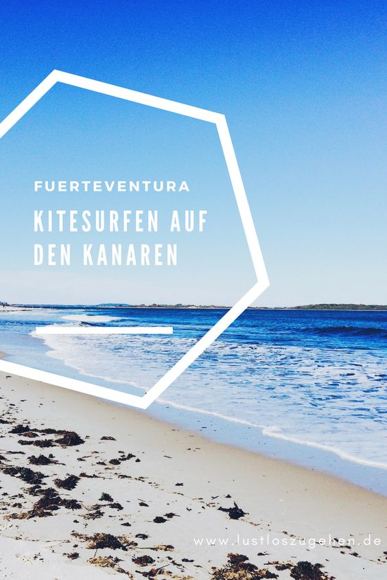 Kitesurfen lernen auf Fuerteventura