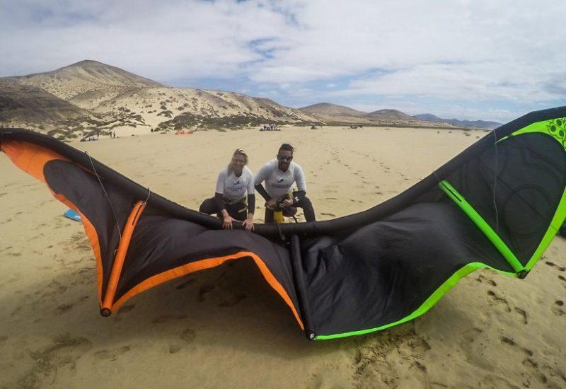 Kiten lernen auf Fuerteventura