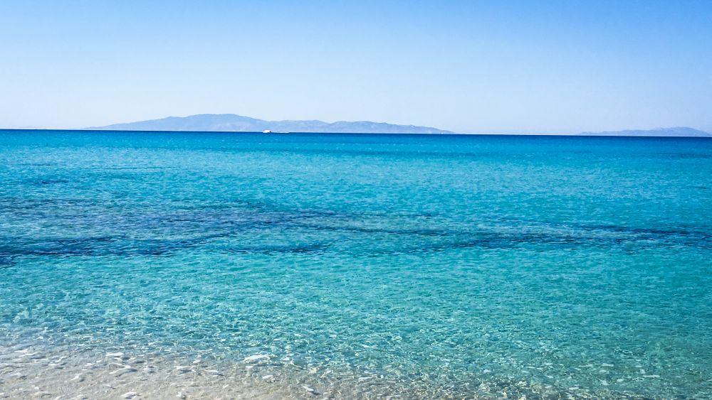 Naxos, eine griechische Insel mit Karibikstränden