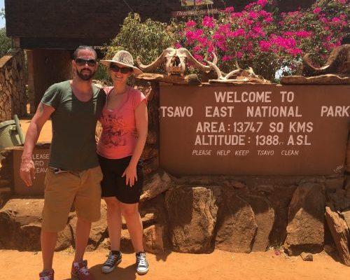 Kenia, Safari, Tsavo