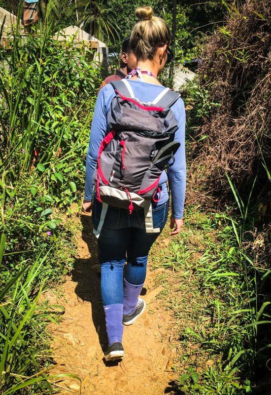 Unterwegs im Sinharaja Regenwald, Sri Lanka
