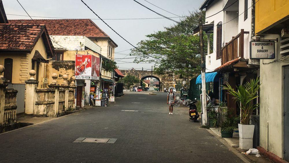 Unterwegs im Süden Sri Lankas, Galle
