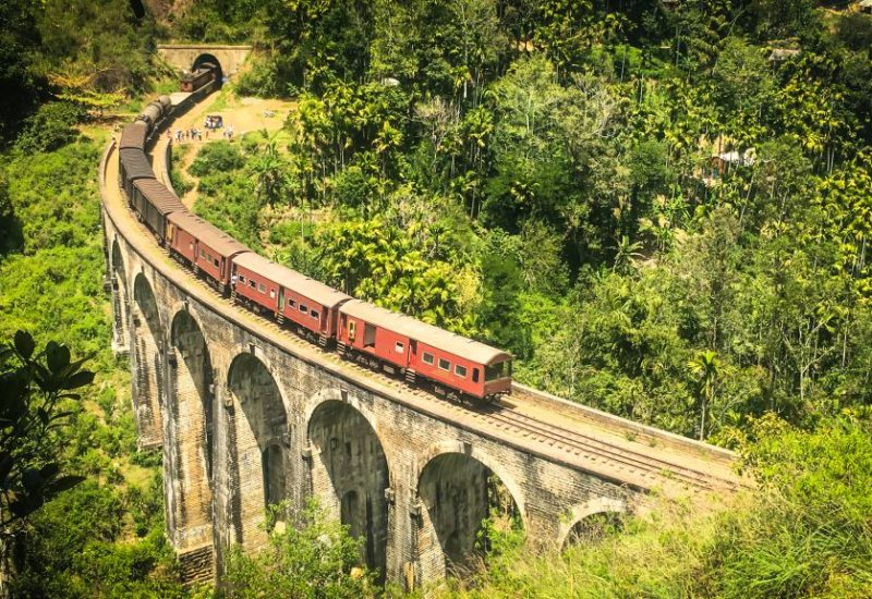 Demodara Nine Arch Bridge, Ella, Sri Lanka