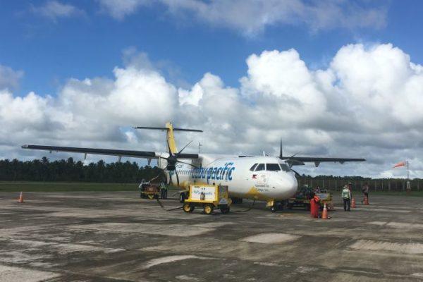 Philippinen, Siargao, Flugzeug