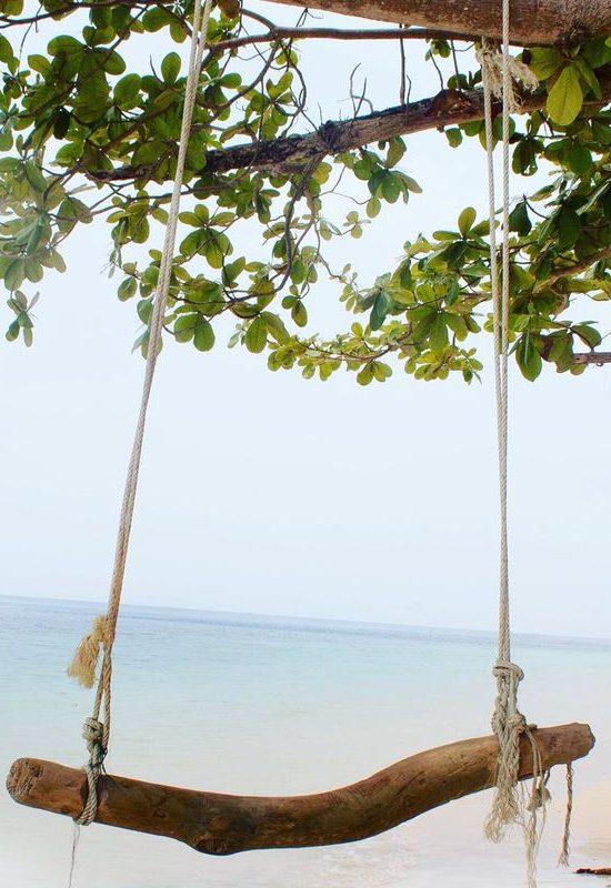 Die kleine Insel Cuyo auf den Philippinen