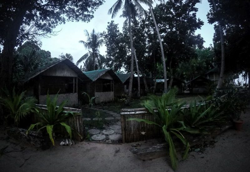 Unsere Unterkunft Coco Verde auf den Philippinne