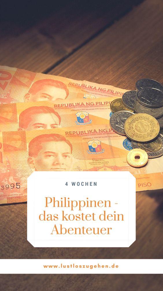 Kosten, Geld, Budget, Philippinen