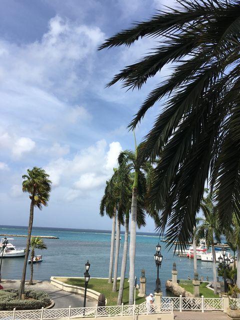 Oranjestad auf Aruba, Aussicht auf das offene Meer