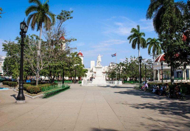 Der Parque José Martí, Kuba.