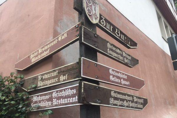 Ein Wochenende im Rheingau, Eltville, Kloster Eberbach