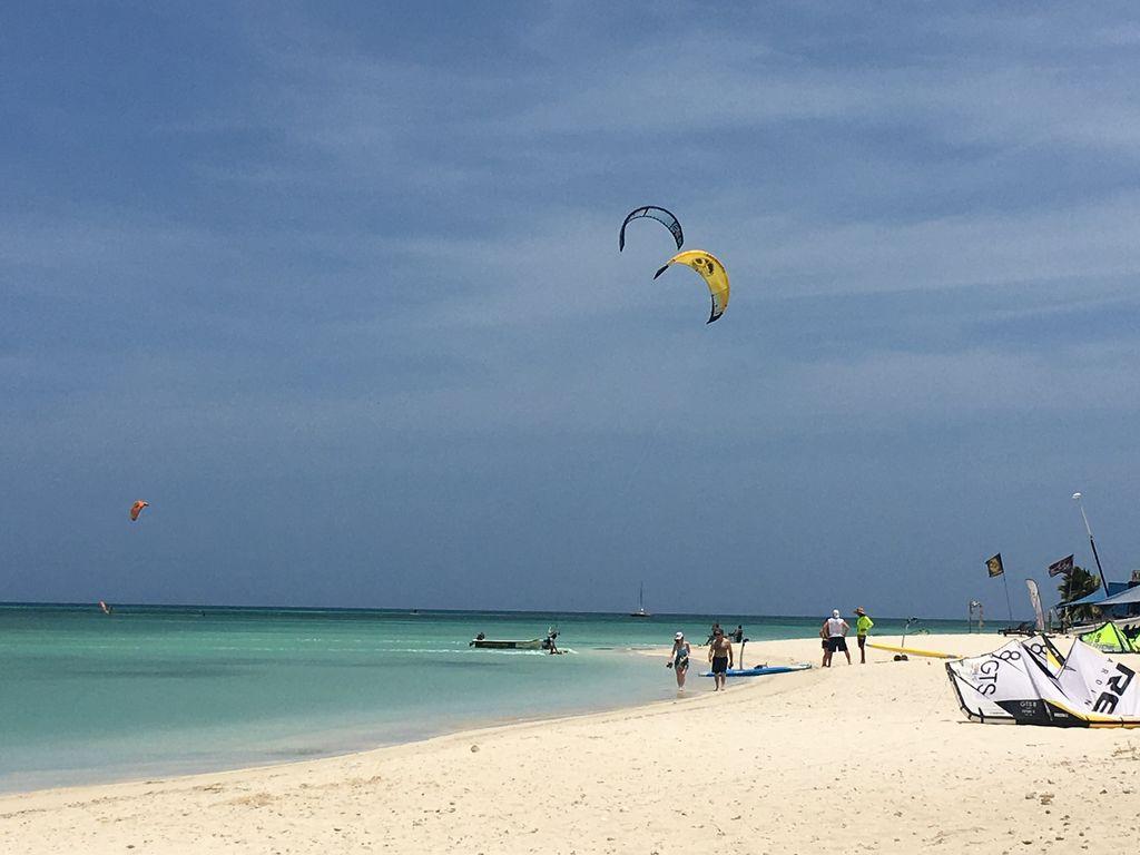 Kitespots auf Aruba