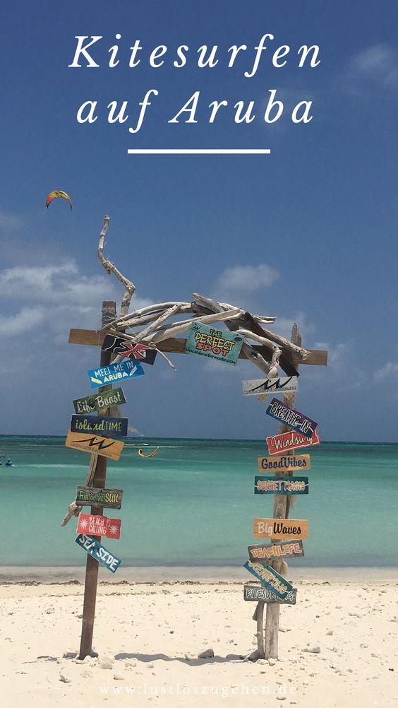 Kitesurfen auf Aruba, der richtige Kitespot