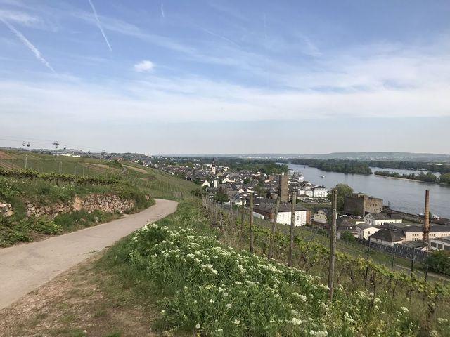 Ein Wochenende im Rheingau, Rüdesheim am Rhein.