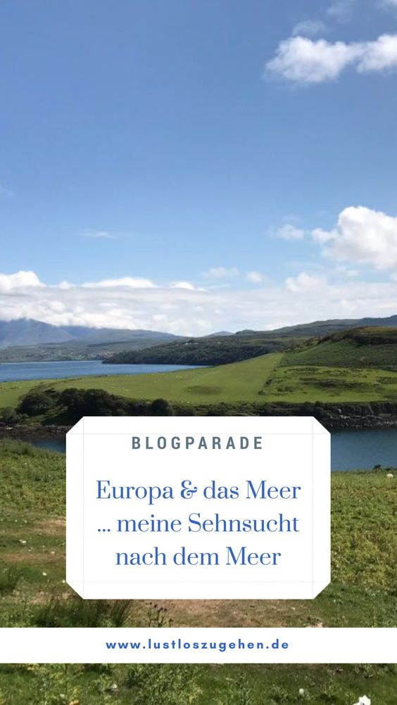 Blogparade - Europa und das Meer