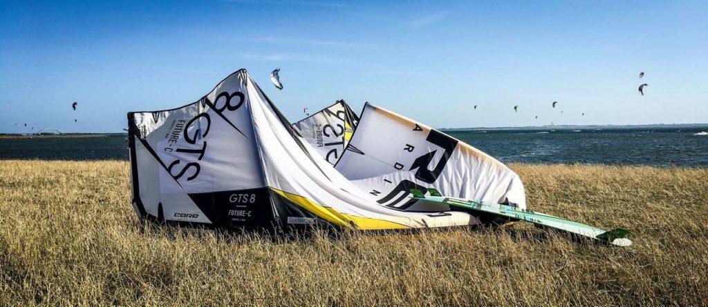 Blogparade Meer, Kitesurfen an der Ostsee, Fehmarn