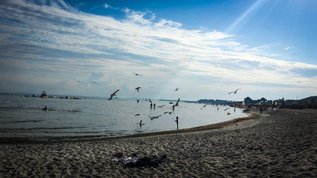 Blogparade: Europa und das Meer, Kitesurfen an der Ostsee, Insel Fehmarn