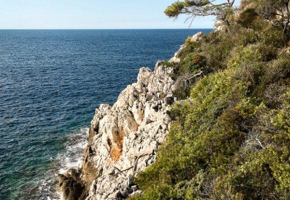 Reisetipops für die Côte d'Azur, Frankreich.