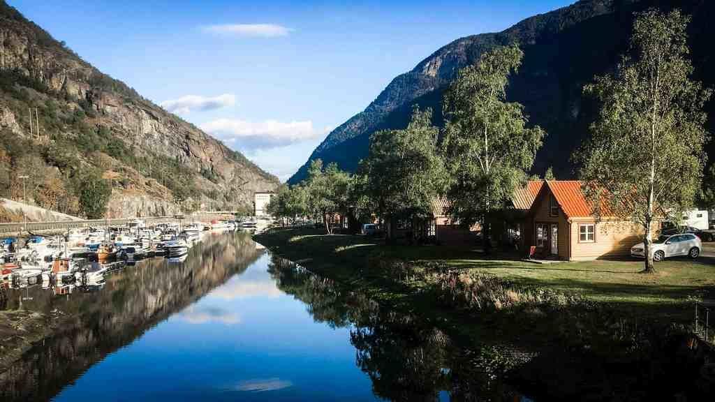 Der Ferien- und Freizeitpark Laerdal, Norwegen