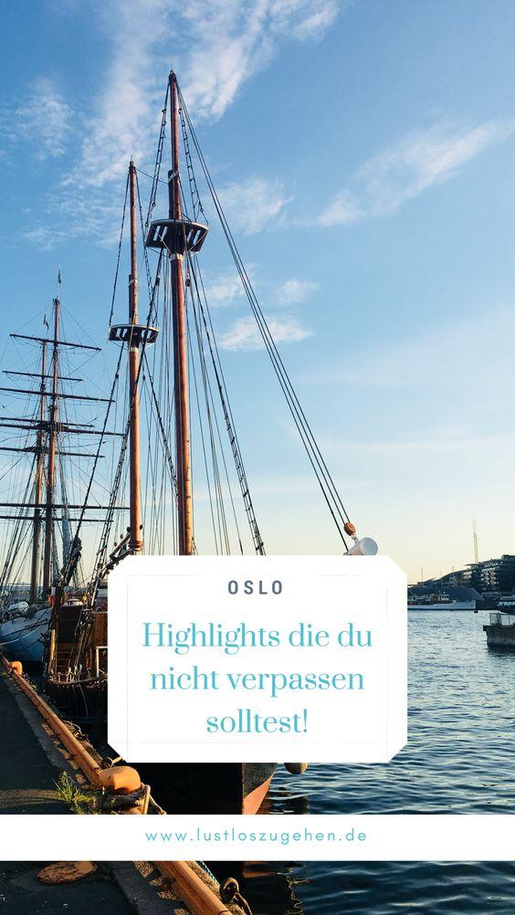 Oslo - Highlights die du nicht verpassen solltest