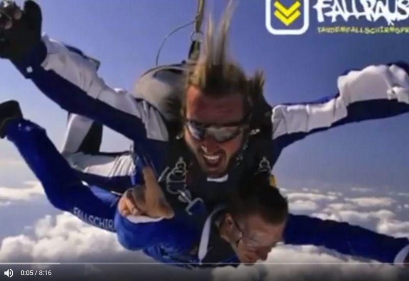 Fallschirmspringen, Adrenalin pur!