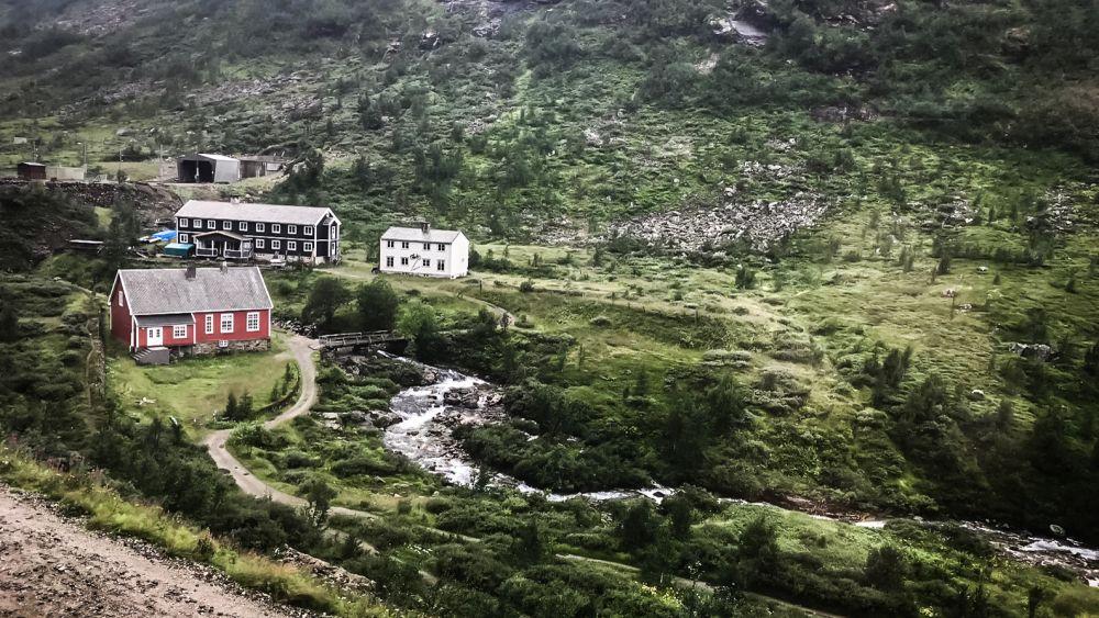 Die weltbekannte Flambahn im Süden Norwegens