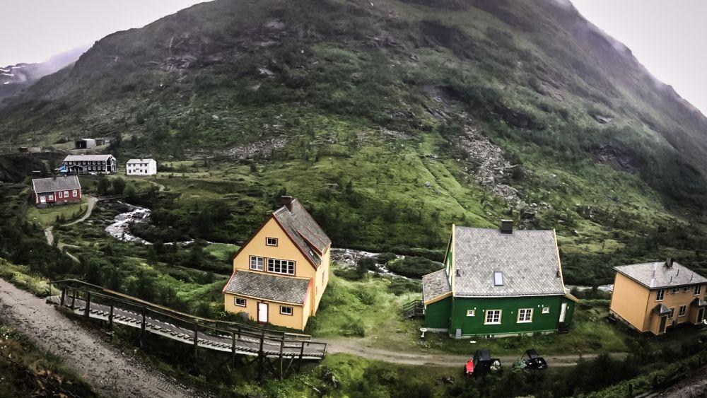 Die Flambahn im Westen Norwegens