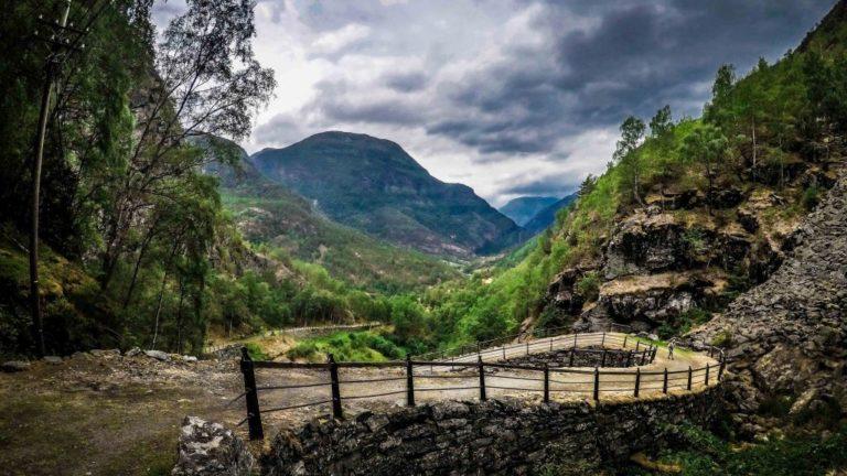 Der Königsweg über Filejell, Norwegen