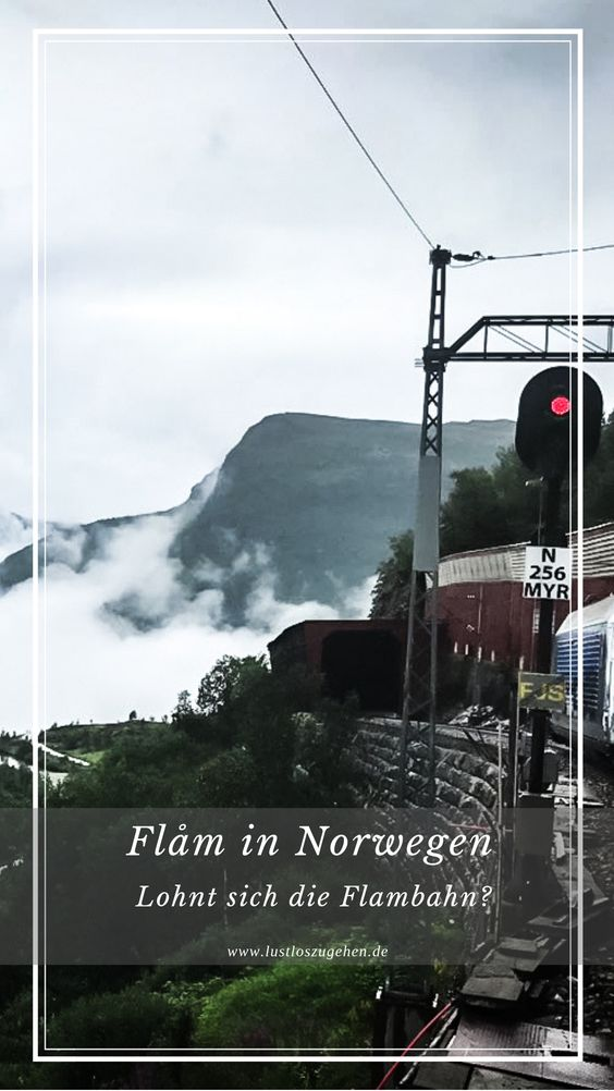 Die Flambahn in Norwegen
