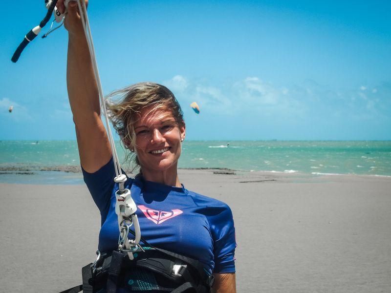 Isa auf Reisen, Kitetrip Brasilien