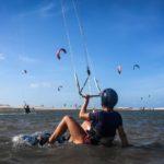 Kiten in Cumbuco, Brasilien