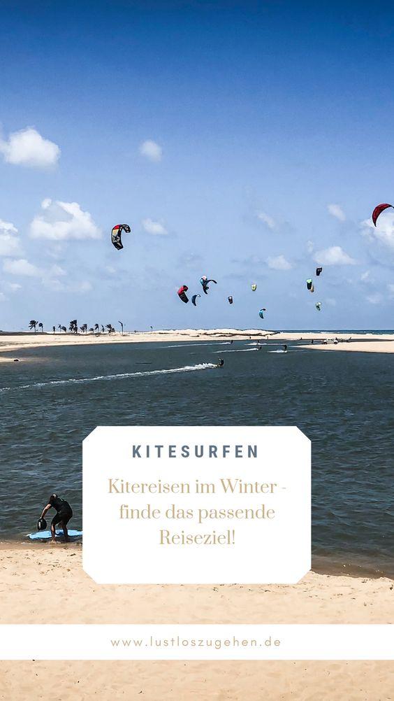 Kitesurfen im Winter - finde das richtige Reiseziele
