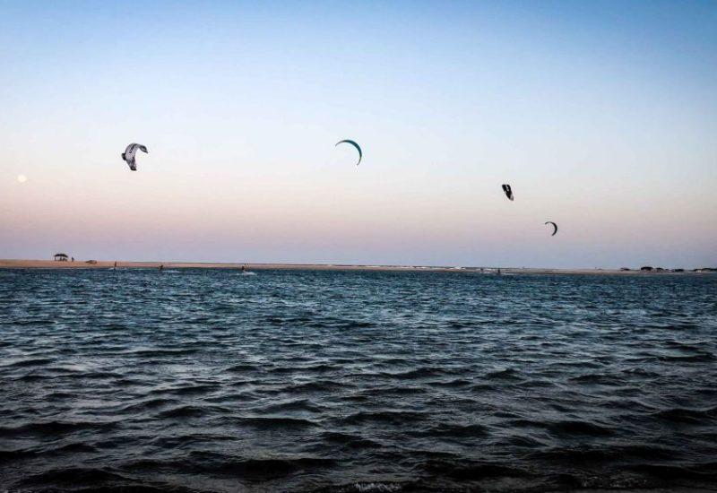 Kitesurfen lernen in Barra Nova, Brasilien