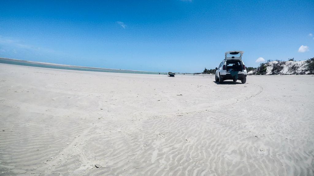 Kitespot Ilha do Guajiru, Brasilien