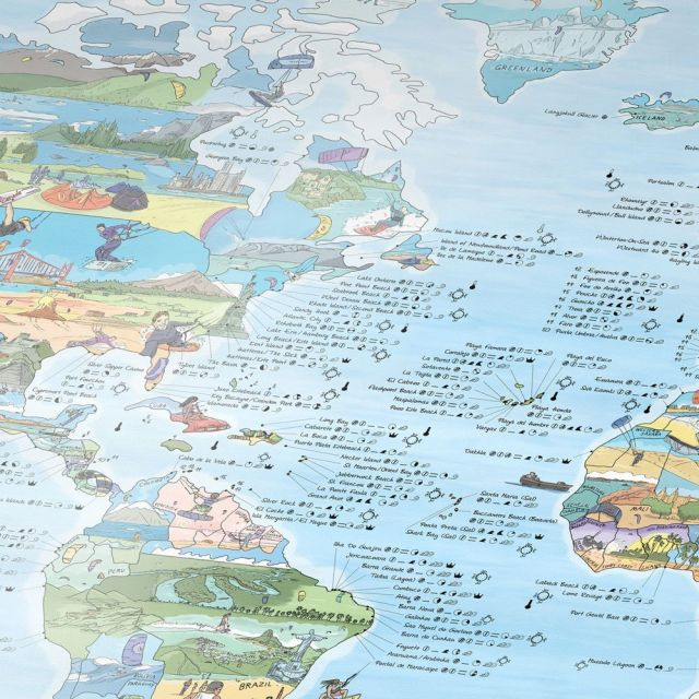 Kitesurfen weltweit, Kitemap