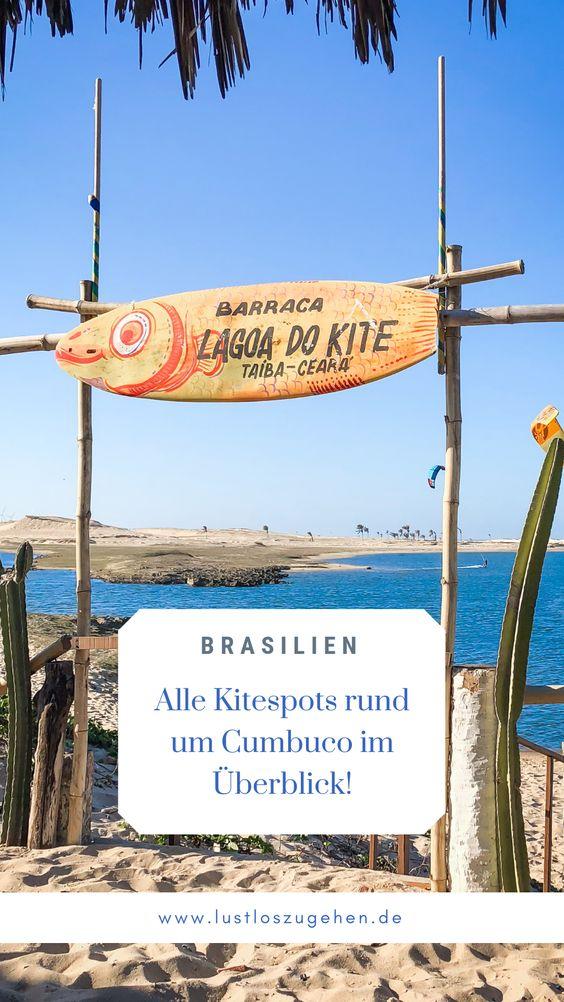 Kitesurfen in Cumbuco und Taiba,Brasilien