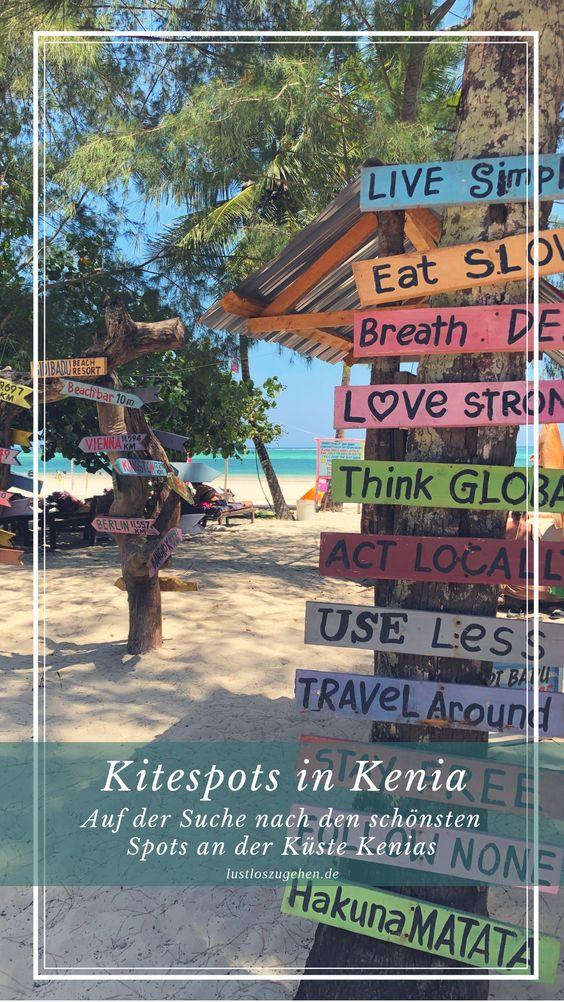 Kitespots in Kenia, Kitesurfen am indischen Ozean