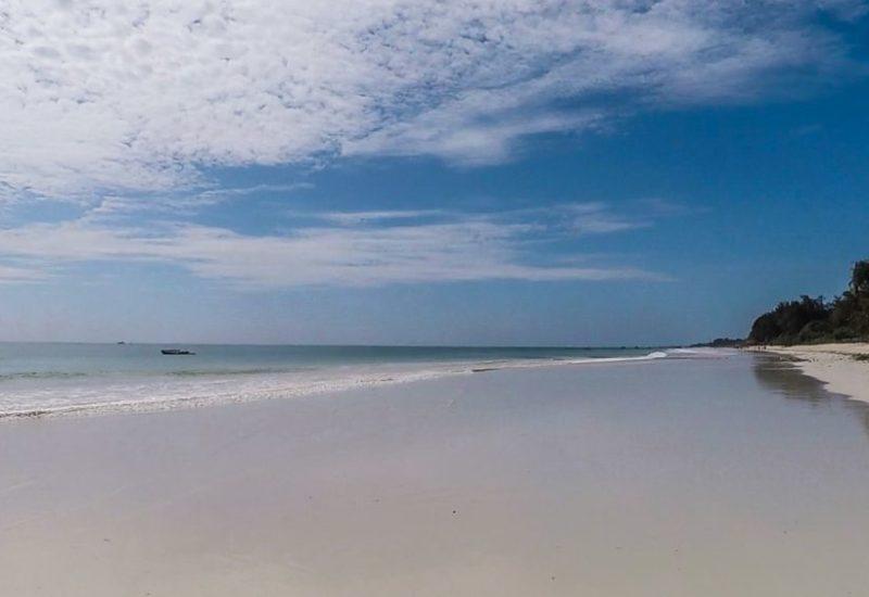 Reisefotos: Weihnachten unter Palmen, Kitespots in Kenia, Kitesurfen an Diani Beach
