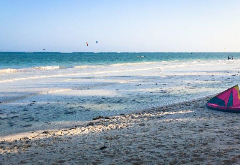 Kitespots in Kenia, Kitesurfen an Diani Beach
