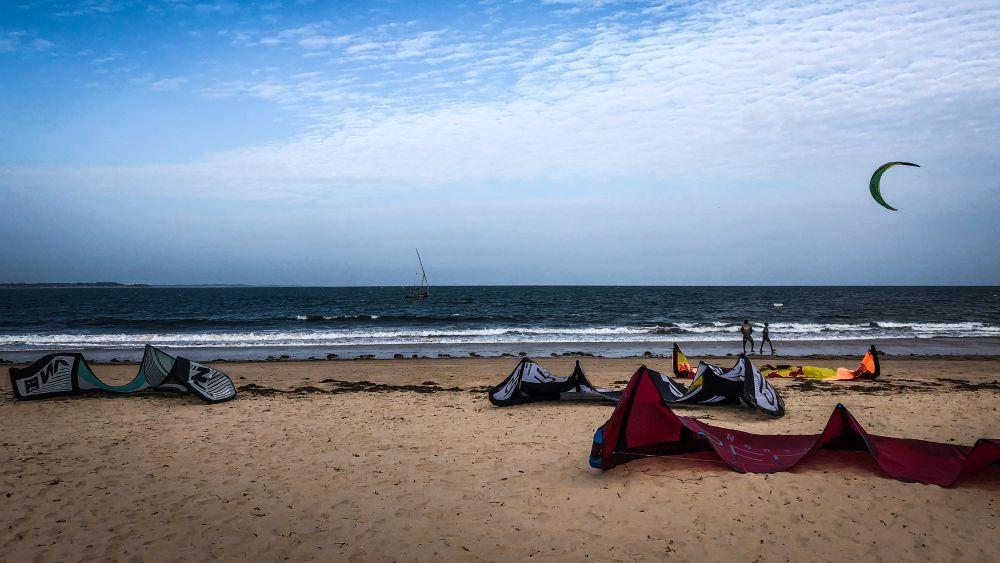 Kitespots in Kenia, Malindi