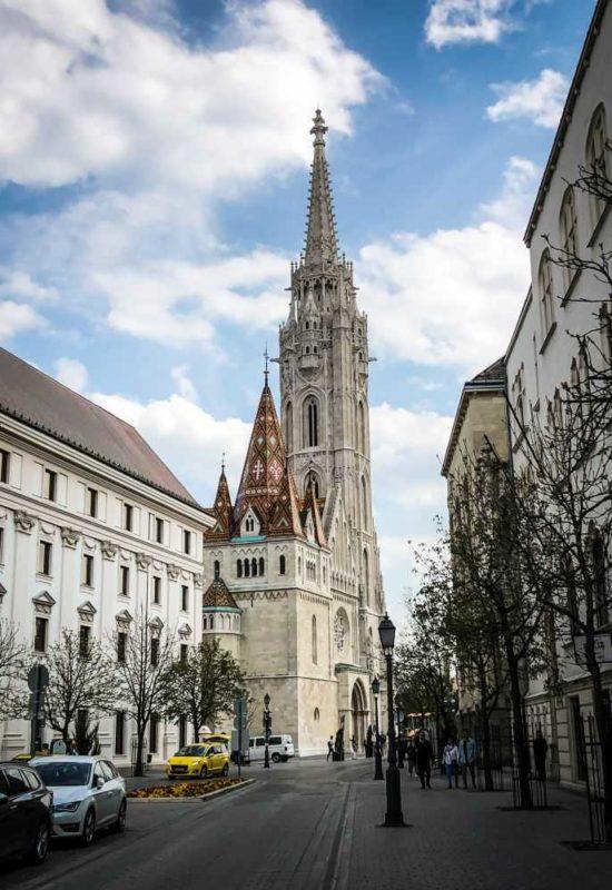 Das Burgviertel in Budapest, Matthiaskirche