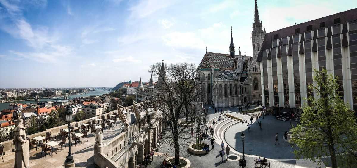 Das Burgviertel in Budapest, Fischerbastei