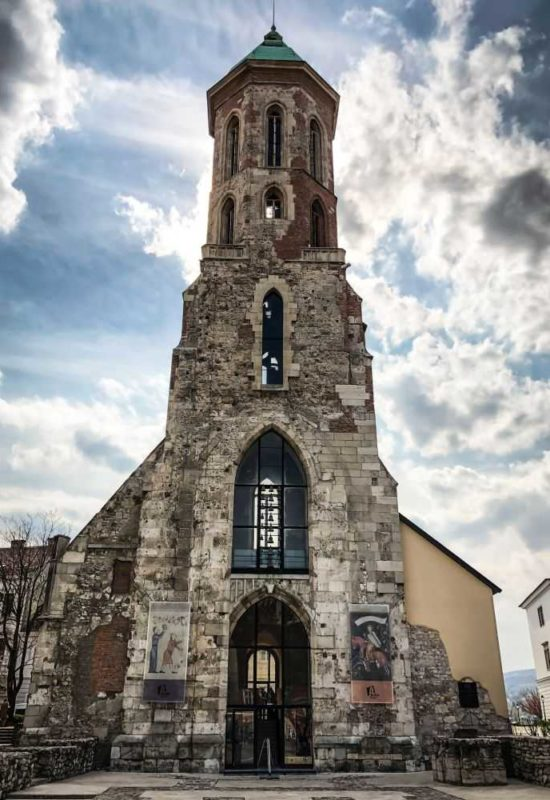 Das Burgviertel in Budapest, Maria-Magdalena-Kirche