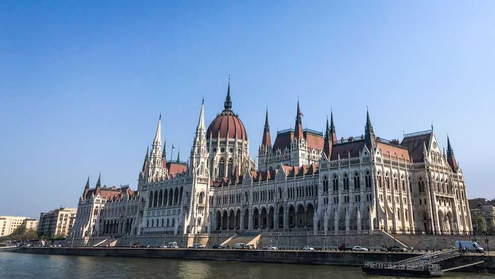 Das Burgviertel in Budapest, Parlament