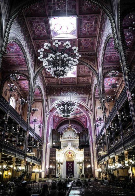 Die größte Synagoge Budapests