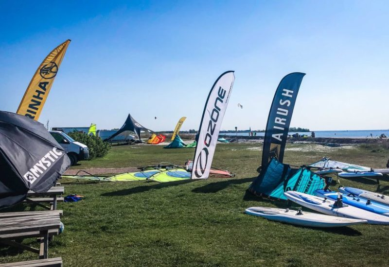 Kitesurfen am Ijsselmeer, tolle Kitespots im Überblick - Reisefotos Holland