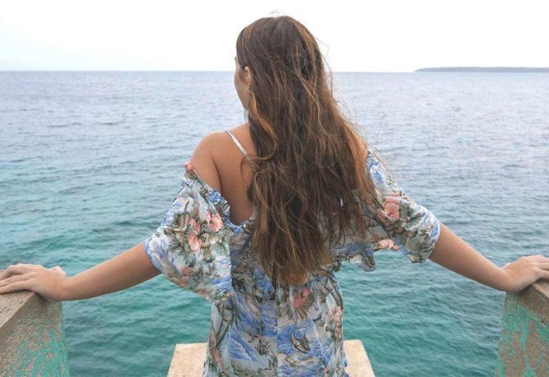 Der Blick auf das Meer, unfassbar schön. Philippinen
