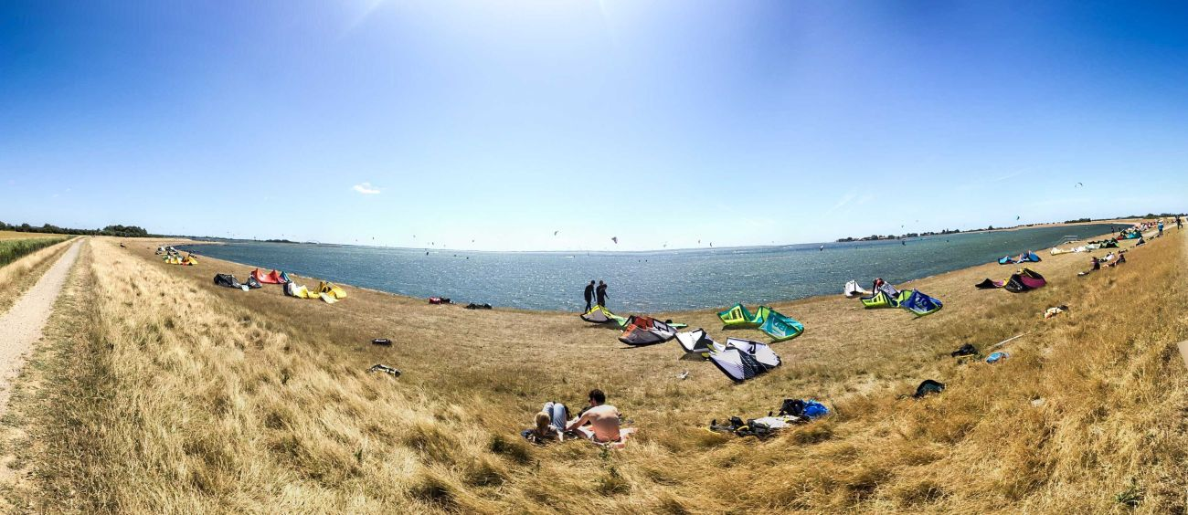 Lemkenhafen, Gollenford und Gold sind alle perfekte Kitespotss für Anfänger