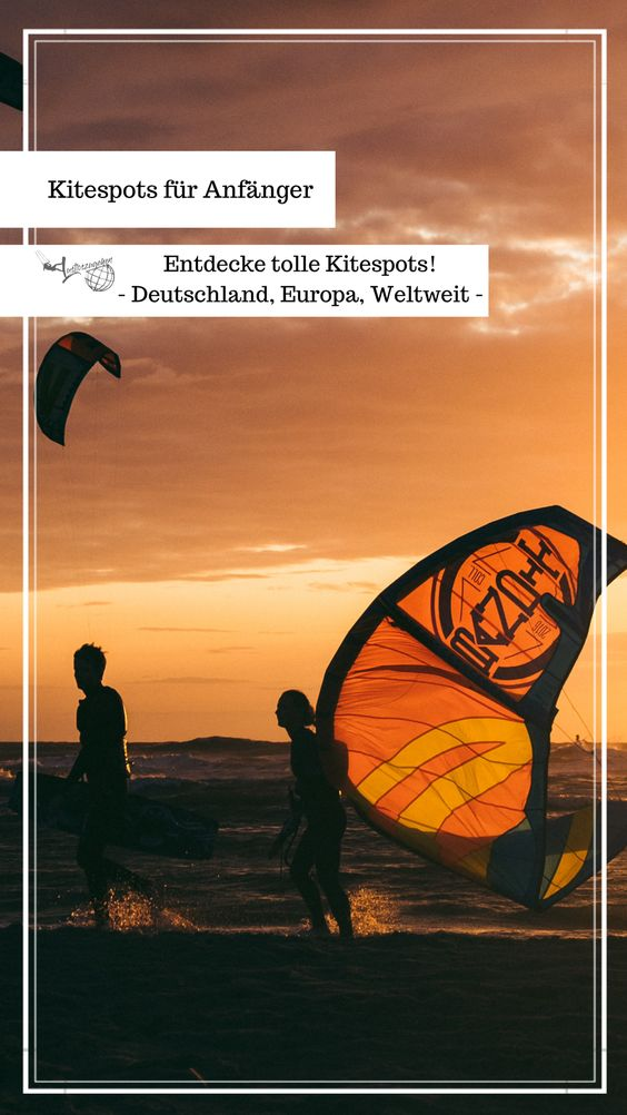 Kitespots für Anfänger weltweit
